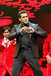 April 22, 2017 - Sydney, NSW, Australia - Bollywood Superstar Salman Khan performing at the Da-Bangg Tour at the Qudos Bank Arena  (Credit Image: © Christopher Khoury/Australian Press via ZUMA Wire)
