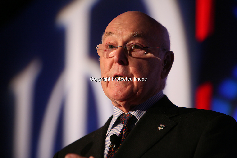 Murray Walker speaking at IoD sporting lunch