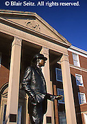 Southwest PA, Sculpture of Jimmy Stewart, City Hall and Jimmy Stewart Museum, Indiana, Pennsylvania