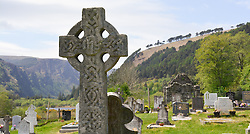 Celtic Cross, Glendalough, Ireland