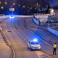 Kristiansand  20161127.<br /> Mann skutt og drept  av politiet natt til søndag.  <br /> Foto: Tor Erik Schrøder / NTB scanpix