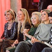 NLD/Amsterdam/20151202 - Koninklijke Familie bij uitreiking Prins Claus Prijs 2015,