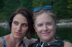 Alex and Alison, Ross Lake National Recreation Area, North Cascades National Park, US