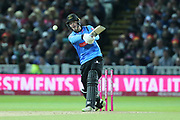 Sussex's Michael Burgess during the final of the Vitality T20 Finals Day 2018 match between Worcestershire rapids and Sussex Sharks at Edgbaston, Birmingham, United Kingdom on 15 September 2018.