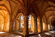 PORTUGAL, ABBEY OF BATALHA 'Manueline' style Royal Cloister from 1388