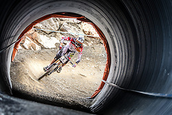 14.06.2014, Bike Park, Leogang, AUT, UCI, Mountainbike Weltcup, Leogang, Downhill, Herren, im Bild Josh Bryceland (GBR) // during Mens Downhill of UCI Mountainbike Worldcup at the Bikepark, Leogang, Austria on 2014/06/14. EXPA Pictures © 2014, PhotoCredit: EXPA/ JFK
