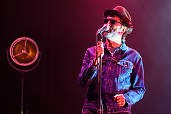 Mark Oliver Everett of Eels performing at Brixton Academy in south London. PRESS ASSOCIATION Photo. Picture date: Monday July 2nd, 2018