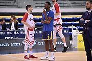 Anumba Simon Mussini Federico<br /> FIAT Torino - Grissin Bon Reggio Emilia<br /> Lega Basket Serie A 2018-2019<br /> Torino 03/02/2019<br /> Foto M.Matta/Ciamillo & Castoria