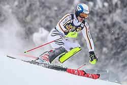 Linus Strasser (GER) during 1st run of Men's Slalom race of FIS Alpine Ski World Cup 57th Vitranc Cup 2018, on March 4, 2018 in Kranjska Gora, Slovenia. Photo by Ziga Zupan / Sportida