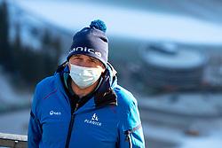 Jelko Gros at preparation of Planica Hill 2 weeks before FIS Ski Flying World Championships 2020, on November 25, 2020 in Planica, Slovenia. Photo by Matic Klansek Velej / Sportida