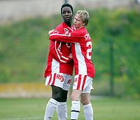 Fotball , 6. mars 2007 , La Manga , Bryne - Sogndal 2-1<br /> Tor-Mattis Kåven og Mammadou Diallo , Bryne
