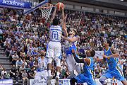 DESCRIZIONE : Beko Legabasket Serie A 2015- 2016 Dinamo Banco di Sardegna Sassari -Vanoli Cremona<br /> GIOCATORE : MarQuez Haynes Rok Stipcevic<br /> CATEGORIA : Rimbalzo<br /> SQUADRA : Dinamo Banco di Sardegna Sassari<br /> EVENTO : Beko Legabasket Serie A 2015-2016<br /> GARA : Dinamo Banco di Sardegna Sassari - Vanoli Cremona<br /> DATA : 04/10/2015<br /> SPORT : Pallacanestro <br /> AUTORE : Agenzia Ciamillo-Castoria/L.Canu