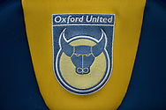 Oxford United badge dugout seat during the EFL Sky Bet League 1 match between Oxford United and Bristol Rovers at the Kassam Stadium, Oxford, England on 10 February 2018. Picture by Adam Rivers.