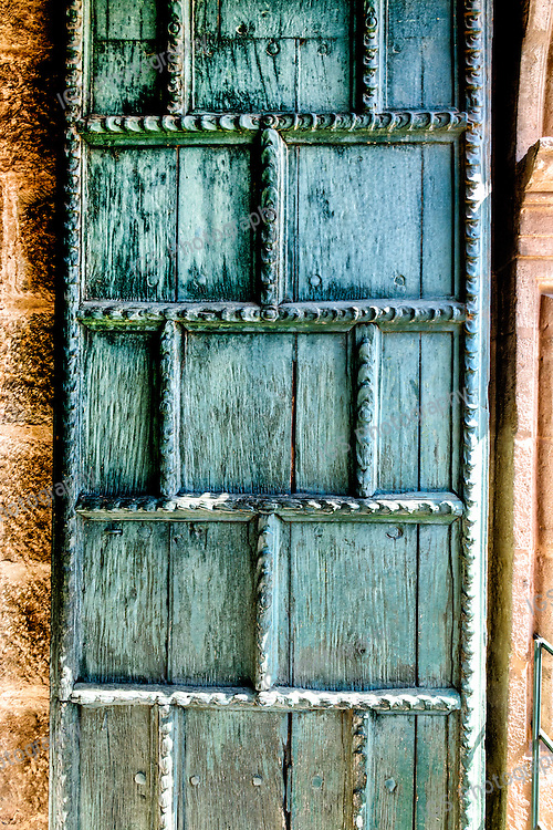 Door leading to the Belltower of the Church of the Society of Jesus