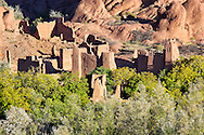 Kasbah in the Dades Valley, Morocco.