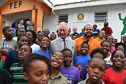 The Prince of Wales visits the Youth Empowerment Project during a visit to the island of Tortola in the British Virgin Islands as he continues his tour of hurricane-ravaged Caribbean islands.