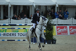 Hassmann Felix, (GER), Cayenne WZ<br /> CSI4* Qualifikation DKB-Riders<br /> Horses & Dreams meets Denmark - Hagen 2016<br /> © Hippo Foto - Stefan Lafrentz
