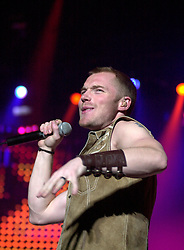Ronan Keating plays the Hallam FM Arena in Sheffield<br /> Ronan Patrick John Keating is an Irish recording artist, singer-songwriter, musician, and philanthropist.<br /> Copyright Paul David Drabble<br /> 14th April 2003