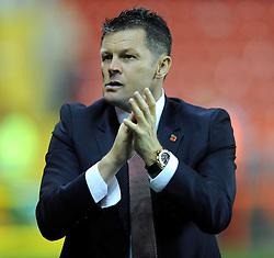 Bristol City manager, Steve Cotterill - Photo mandatory by-line: Dougie Allward/JMP - Mobile: 07966 386802 - 11/11/2014 - SPORT - Football - Bristol - Ashton Gate - Bristol City v AFC Wimbledon - Johnstone Paint Trophy