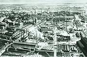 The centre of Krupp's factory at Essen circa 1910.