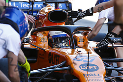 May 10, 2019 - Barcelona, Catalonia, Spain - Carlos Sainz, team McLaren during F1 Grand Prix free practice celebrated at Circuit of Barcelona 10th May 2019 in Barcelona, Spain. (Credit Image: © Mikel Trigueros/NurPhoto via ZUMA Press)