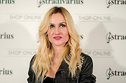"""Clara Courel at Stradivarius store for the collection """"Fiesta'12 party  in Madrid"""