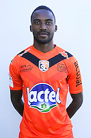 Yven Moyo of Laval during Laval squad photo call for the 2016-2017 Ligue 2 season on September, 7 2016 in Laval, France ( Photo by Philippe Le Brech / Icon Sport )
