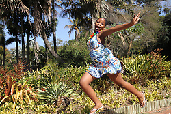 South Africa - Durban - 28 August 2020 - Fezeka Ngcobo, (12) from Durban is excited  for the Spring season to kick in on the 1st of September<br /> Picture: Doctor Ngcobo/African News Agency(ANA)