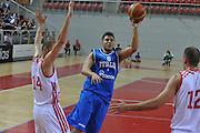 Porec 09 Agosto 2012 - Amichevole Croazia Italia<br /> Nella Foto : STEFANO MANCINELLI<br /> Foto Ciamillo