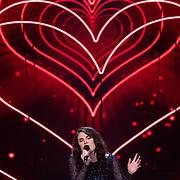 NLD/Hilversum/20180216 - Finale The voice of Holland 2018, Nienke Wijnhoven