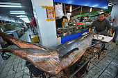 Fishermen Catch 3.8-meter-long Swordfish In Yellow Sea