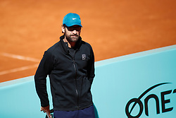 May 4, 2019 - Madrid, MADRID, SPAIN - Carlos Moya (ESP) during the Mutua Madrid Open 2019 (ATP Masters 1000 and WTA Premier) tenis tournament at Caja Magica in Madrid, Spain, on May 04, 2019. (Credit Image: © AFP7 via ZUMA Wire)