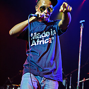 Local Washington D.C. rapper Tabi Bonney performs at the State Theater. Bonney recently released his first mixtape, A Place Called Stardom, with producer Mick Boogie.