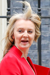 © Licensed to London News Pictures. 26/03/2019. London, UK. Liz Truss - Chief Secretary to the Treasury departs from No 10 Downing Street after attending the weekly Cabinet Meeting. Photo credit: Dinendra Haria/LNP