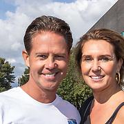 NLD/Amsterdam/20180925 - BN'ers over stormbaan voor metabole ziekte, Danny de Munck en partner Jenny