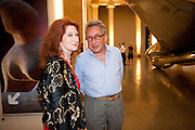 PHILLIPA SCOTT; KASMIN, Tate Summer Party. Celebrating the opening of the  Fiona Banner. Harrier and Jaguar. Tate Britain. Annual Duveens Commission 29 June 2010. -DO NOT ARCHIVE-© Copyright Photograph by Dafydd Jones. 248 Clapham Rd. London SW9 0PZ. Tel 0207 820 0771. www.dafjones.com.