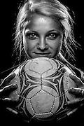 Barron Collier High School's Jamie Lockie, 2009-2010 Girl's Soccer Player of the Year. David Albers/Staff