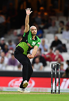 Cricket - 2021 Inaugural The Hundred: Men - The Eliminator - Southern Brave vs Trent Rockets - The Kia Oval - Friday 20th August 2021<br /> <br /> Southern Braves' Jake Lintott.<br /> <br /> COLORSPORT/Ashley Western