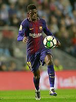 FC Barcelona's Ousmane Dembele during La Liga match. April 17,2018. (ALTERPHOTOS/Acero)