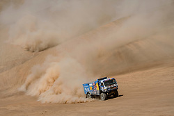 Dmitry Sotnikov (RUS) of Team KAMAZ-Master races during stage 05 of Rally Dakar 2019 from Monquegua, to Arequipa, Peru on January 11, 2019 // Marcelo Maragni/Red Bull Content Pool // AP-1Y3KKPKMS1W11 // Usage for editorial use only // Please go to www.redbullcontentpool.com for further information. //