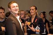 JAMIE WALTON; YASMIN LE BON, The Lighthouse Gala Auction in aid of the Terrence Higgins Trust. Christie's. 23 March 2009.