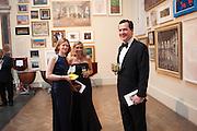 FRANCES OSBORNE; FARRON TOZER BROWN; GEORGE OSBORNE, Royal Academy Annual Dinner 2013. Piccadilly. London. 4 June 2013.