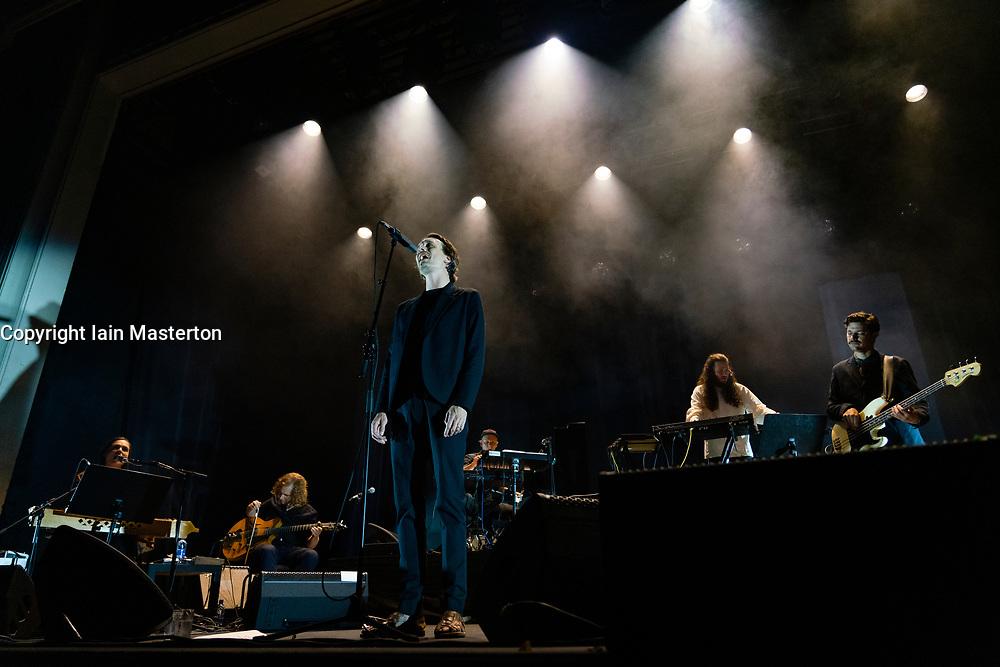 Edinburgh, Scotland, UK. 23 August 2019. Danish group Efterklang play Leith Theatre during the Edinburgh International festival 2019. Iain Masterton/Alamy Live News.