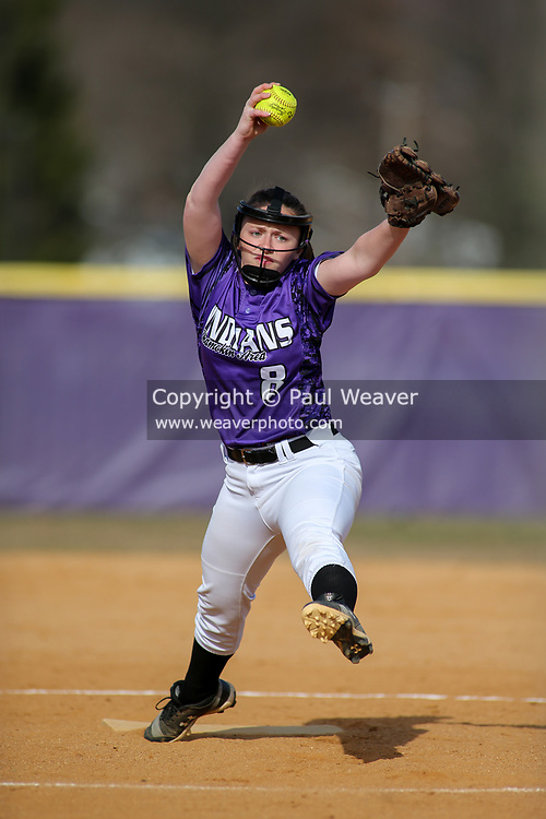 Shamokin Area High School's Payton Whary pitches at home against Danville Area.