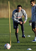Photo: Paul Thomas.<br /> England training session. 05/02/2007.<br /> <br /> John Terry during England training.