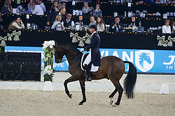 Kittel Patrick, (SWE), Delaunay <br /> WDM Grand Prix<br /> Vlaanderen Kerstjumping - Memorial Eric Wauters - <br /> Mechelen 2015<br /> © Hippo Foto - Dirk Caremans<br /> 27/12/15