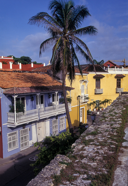 The walled city of Cartagena on Colombia's Caribbean coast.