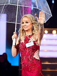 India Willoughby enters the house during the Celebrity Big Brother Launch held at Elstree Studios in Borehamwood, Hertfordshire.Â