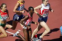 Friidrett, 6. august 2005, VM Helsinki, <br /> World Championship in Athletics<br /> Docus Inzikuru, UGa, 3000 m steeplechase
