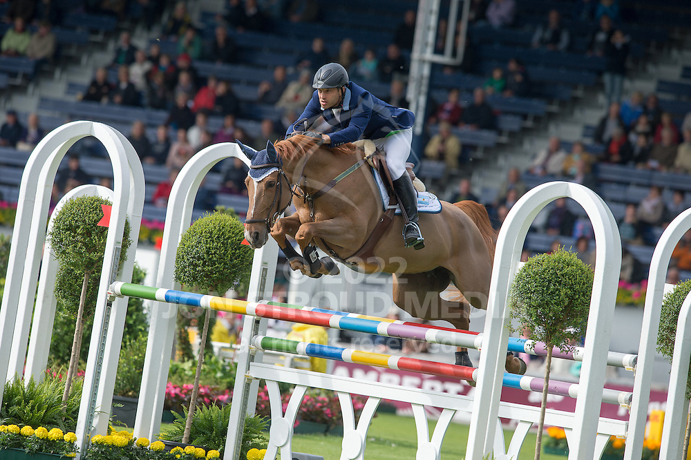 Jose Maria Larocca (ARG) & Hilary Van T Paradijs - Sparkassen Youngsters Cup - World Equestrian Festival Aachen 2015 - CHIO Aachen, Germany - 29 May 2015